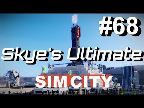 ★ SimCity 5 (2013) #68 ►How To Unlock Omega - SimCity Cities of Tomorrow