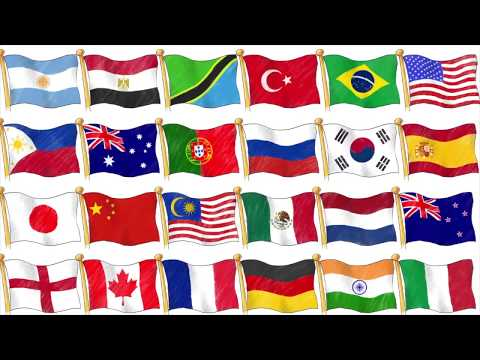 Countries of the World - Nationalities and Languages