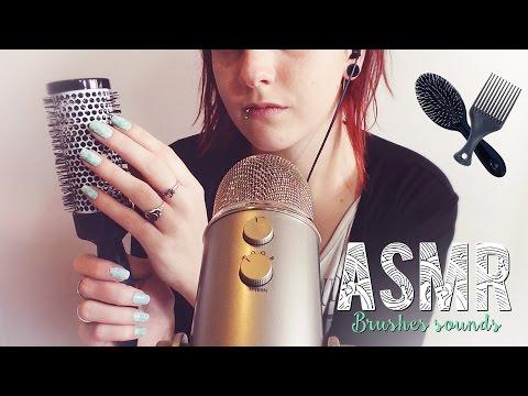 ASMR Français ~ Brushes sounds / Bruits de brosses
