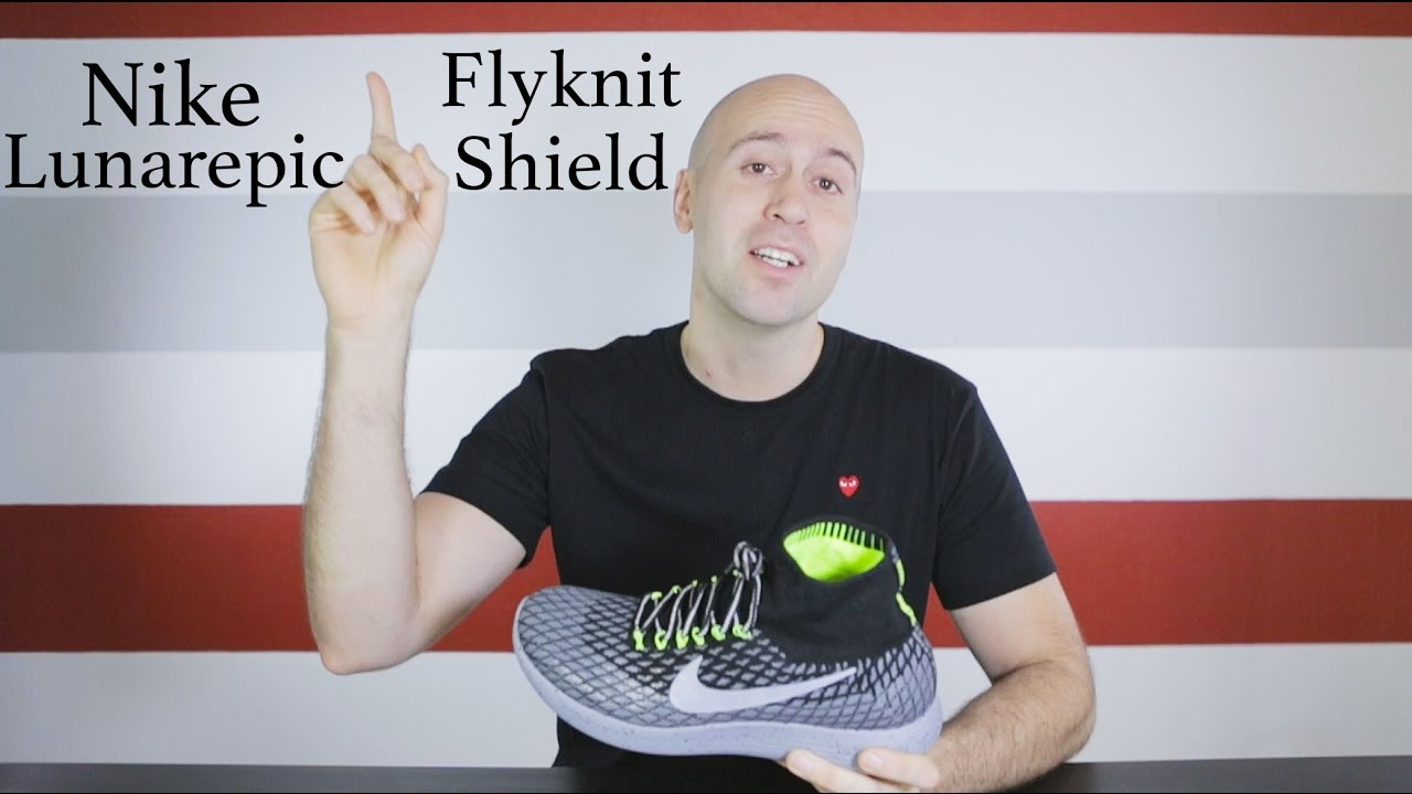 Nike LunarEpic flyknit shield high top - Unboxing + Review + On Feet - Mr  Stoltz 2016 - YouTube 922b798a3