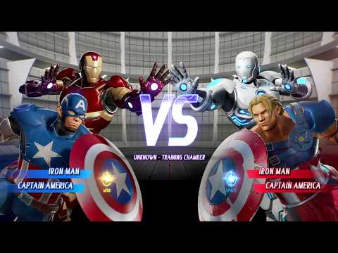 Iron Man And Captain America Vs Superior Iron Man And Captain America