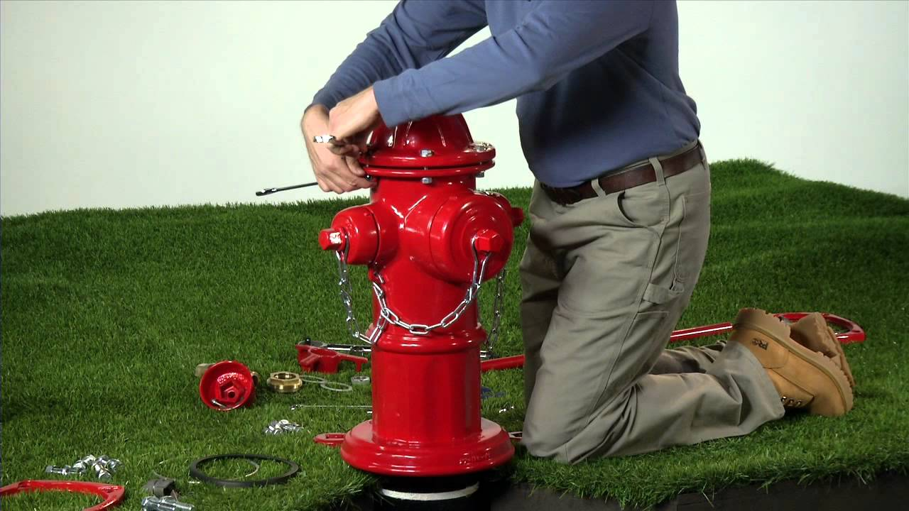 American Avk How To Install A Hydrant Traffic Repair Kit Youtube