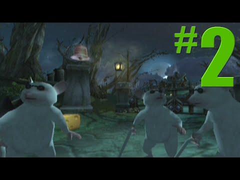 Shrek 2: Game Walkthrough Part 2  Spooky Forest  No Commentary Gameplay GamecubeXboxPS2