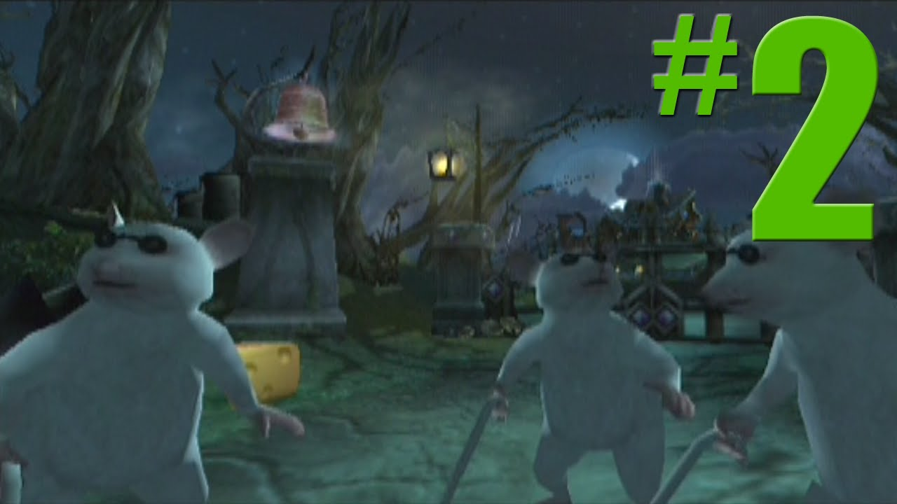 Shrek 2 Game Walkthrough Part 2 Spooky Forest No Commentary Gameplay Gamecube Xbox Ps2 Youtube