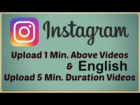 How To Upload Longer Instagram Videos!(English) || Tech Fest