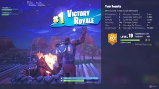 Fortnite - Hybrid - Close Encounters Victory Royale