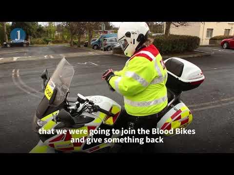 Meet the volunteers of Blood Bikes East