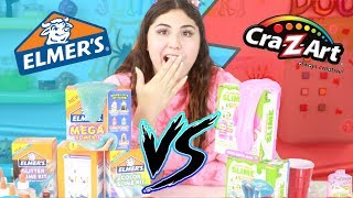 ELMERS SLIME KITS VS CRA Z ART SLIME KITS ~ Which is better! Slimeatory #465