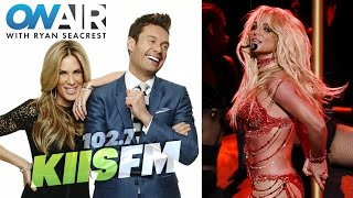 Gambar cover Britney Spears - 2016 Radio Interview with Ryan Seacrest (KIIS 102.7)