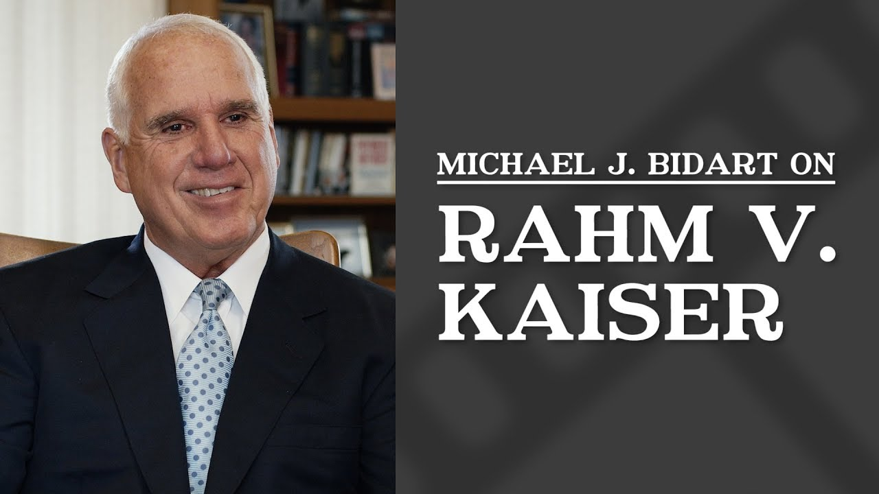 Rahm v. Kaiser | Well Known Los Angeles CA Personal Injury ...