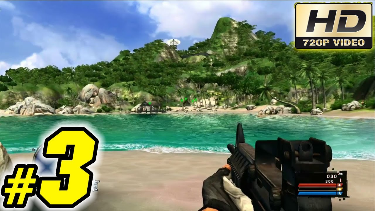 Far Cry Classic Walkthrough Guide Part 3 Xbox 360 Gameplay Youtube