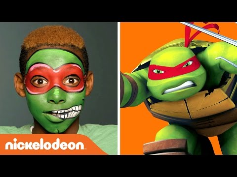 Happy Halloween | Raphael Face Painting | Teenage Mutant Ninja Turtles