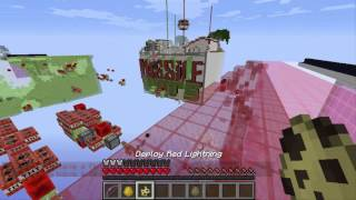 Minecraft : Minigame Missile War Ep.1 สงครามข้ามฟ้า