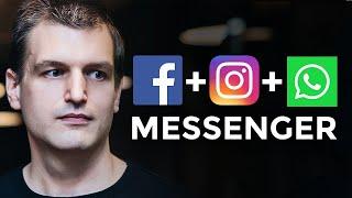 Whatsapp, Instagram and Facebook Messenger Merge