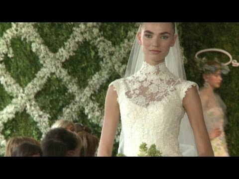 Bridal Wear Spring Collection 2013 - Oscar de la Renta | Videofashion