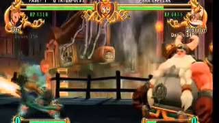 Gameplay Battle Fantasia Xbox 360-Uno de los olvidados de pelea.