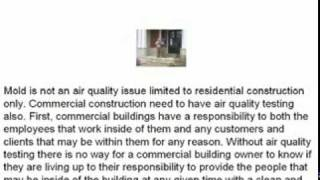 Air Quality Testing In Your Home or Business