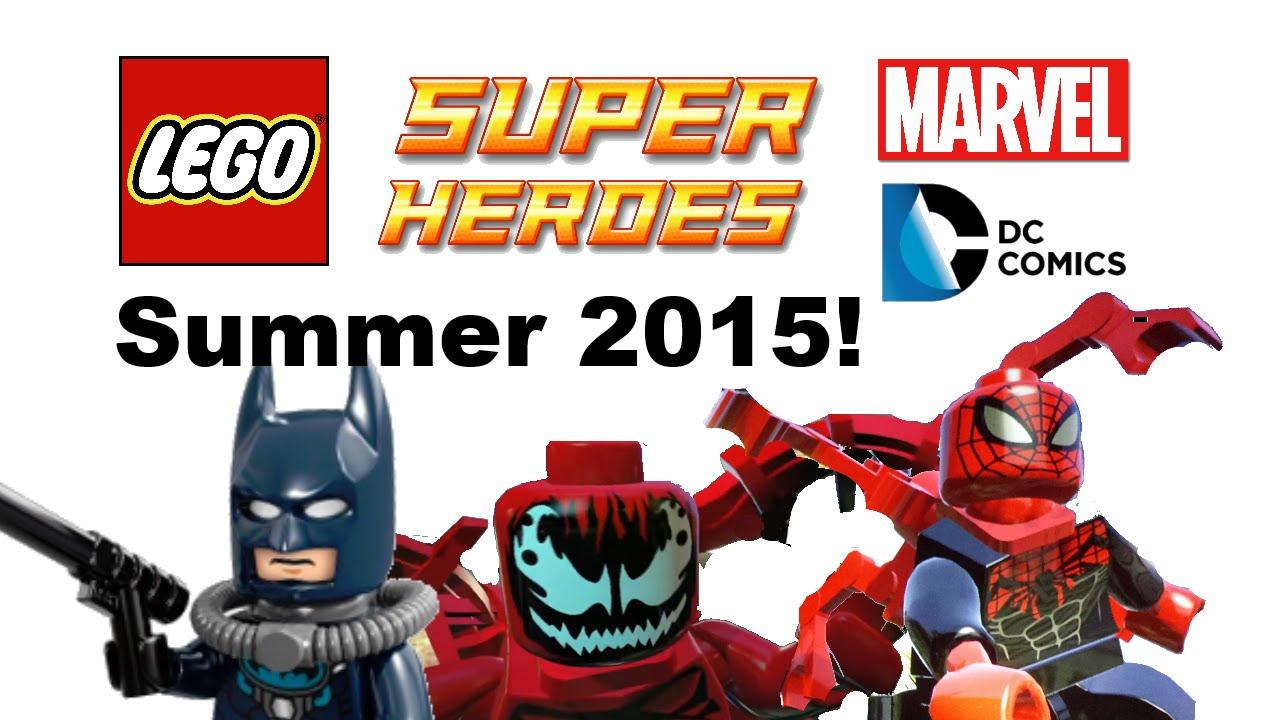 LEGO Marvel and DC Super Heroes Summer 2015 sets list ...