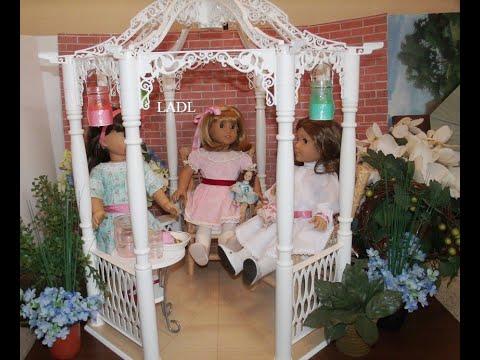 *Review* American Girl Doll Samantha's Be Forever Gazebo