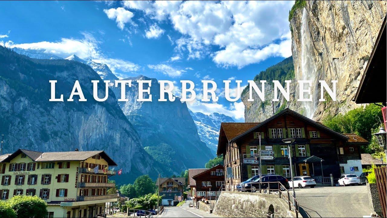Lauterbrunnen Valley, a little Piece of Heaven in Switzerland🇨🇭🏔. Walk tour | Summer 2021