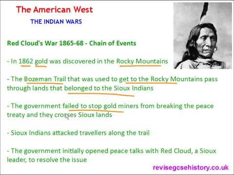 American West - The Indian Wars - Red Cloud