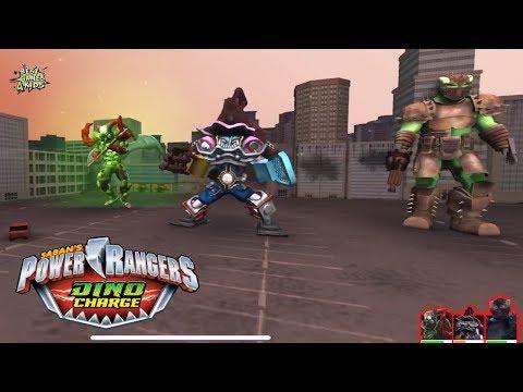 Power Rangers Dino Charge Rumble   ARENA MEGAZORD Challenges: TRIPLE TERROR TOURNAMENT!