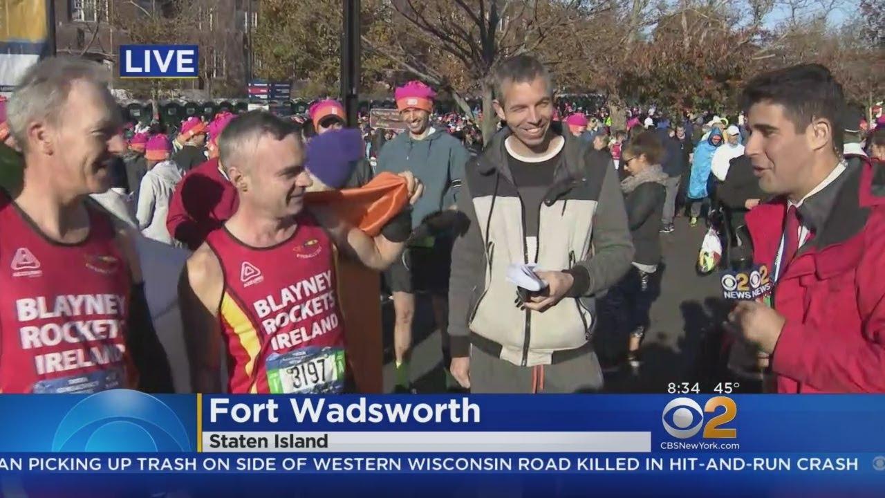 NYC Marathon Begins