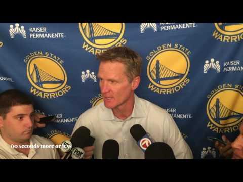 Steve Kerr (Golden State Warriors):