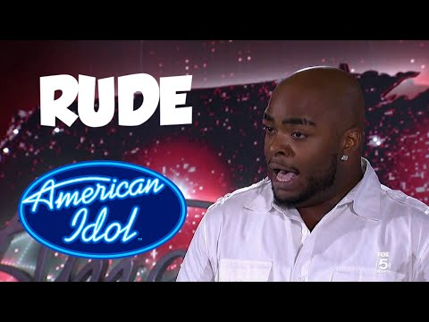 American Idol Rude Contestants
