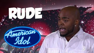 American Idol Rude Contestants