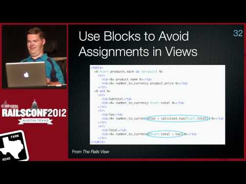 Ten Things You Didn't Know Rails Could Do by James Edward Gray II