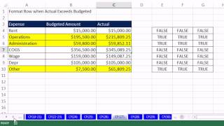 highline excel 2013 class video 40 conditional formatting basic to advanced 50 examples