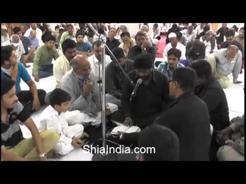 Chehlum jo karbala mein bahatar ka ho chuka - Recited By Zulfequar (Zulfu Bhai) MarsiaKhan