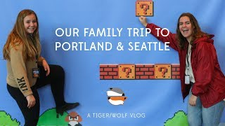 Tiger's Family Trip to PRGE2017 and Seattle Museum of Pop Culture!