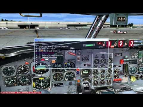 FSX - 727 Orlando Departure - Pro ATC/X