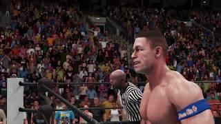 WWE 2K18 john cena v roman reigns