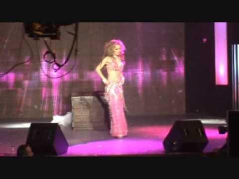 AMELIA ZIDANE BellyDance Tablet LIVE on LBC TV Lebanon