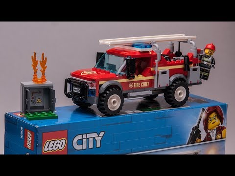 LEGO City 60231 quick review of Fire Chief Response Truck