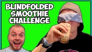 Blindfolded Smoothie Challenge w/iBallisticSquid