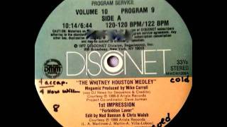 The Whitney Houston Medley (Disconet) - Whitney Houston