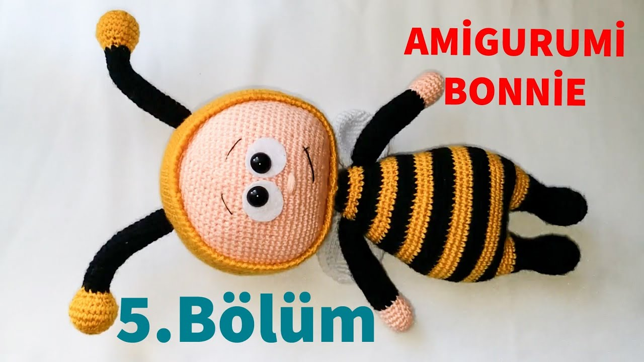 Amigurumi Bonnie 5 (Kol & Kanat ) (Gül Hanım)
