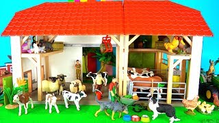 Learn Farm Animals Name and Sounds - Educational Fun Kids Toys
