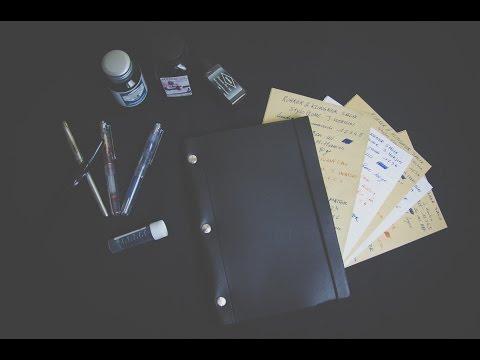 Carnet / Notebook en Cuir de la Compagnie Du Kraft | Présentation et Essai