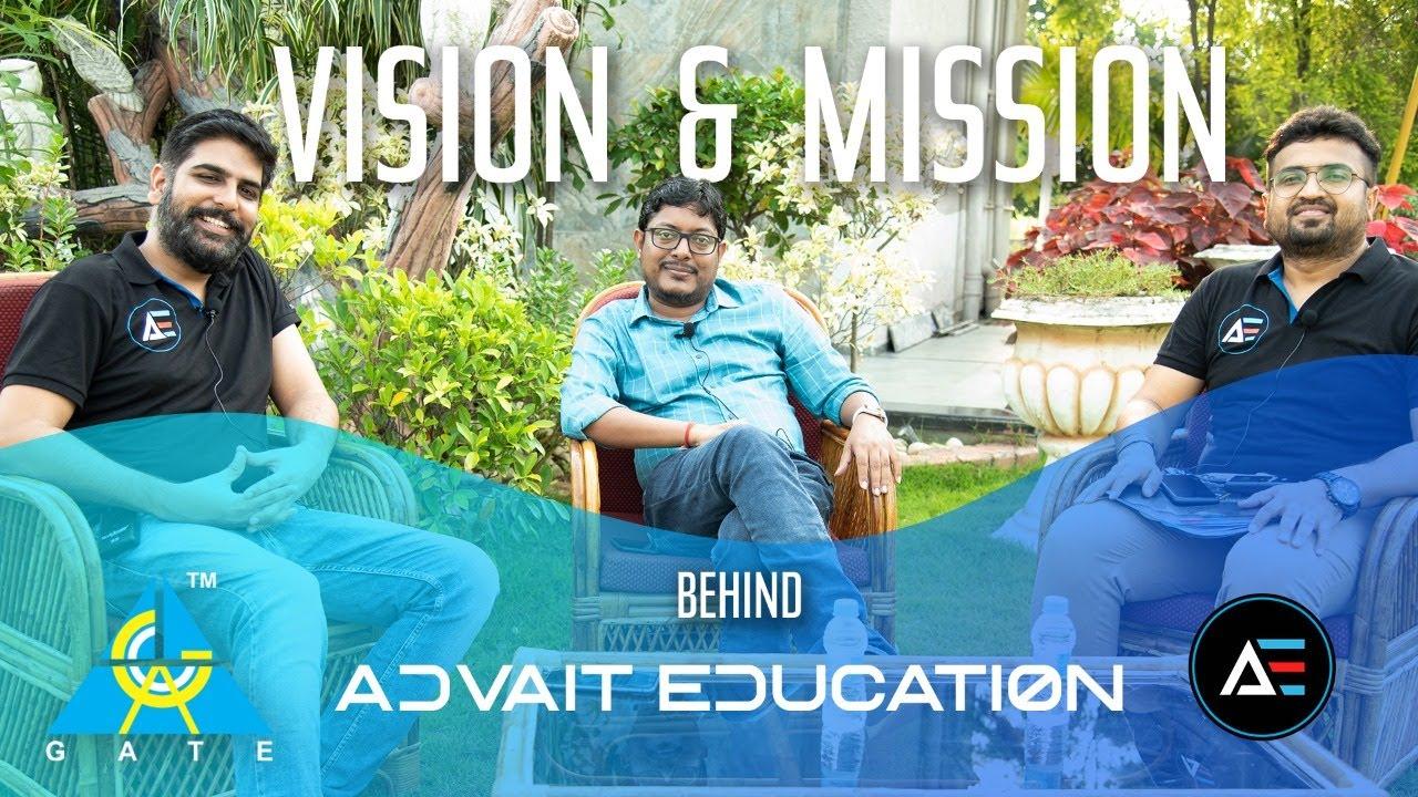 "Vision & mission behind ""Advait Education"" | TEASER"