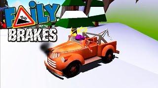 Отказали тормоза #29 Faily Brakes ГОНКИ смешное ВИДЕО ДЛЯ ДЕТЕЙ про машинки VIDEO FOR KIDS cars game