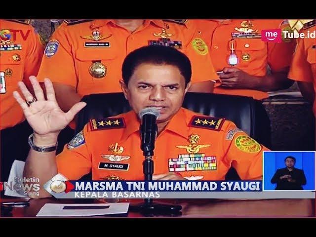 Basarnas Jelaskan Kronologi Jatuhnya Lion Air JT 610 di Perairan Karawang - BIS 29/10