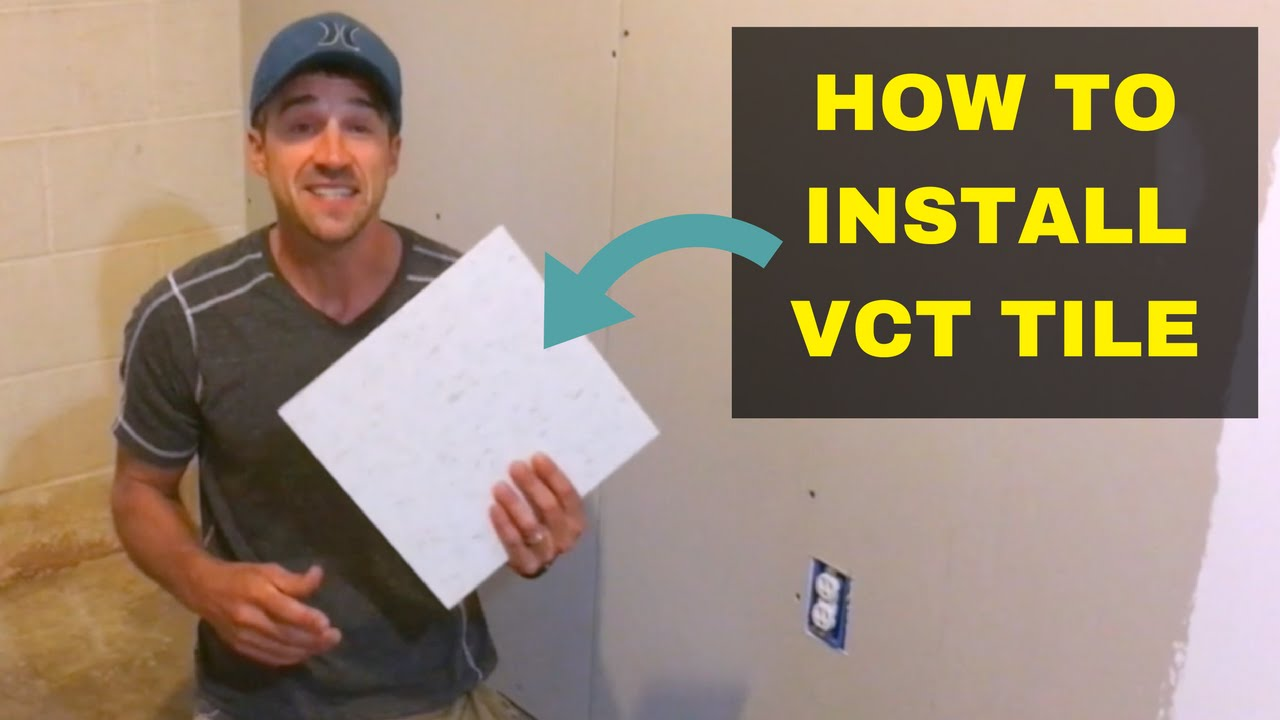 how to install vct tile handy home owner