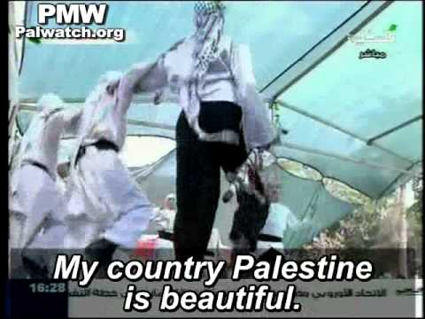 """Kids dance to song claiming Israeli cities as """"Palestine,"""" on PA TV"""