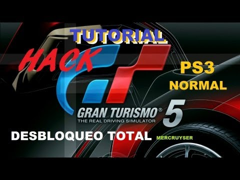 TUTORIAL DESBLOQUEO TOTAL GT5 (2018)