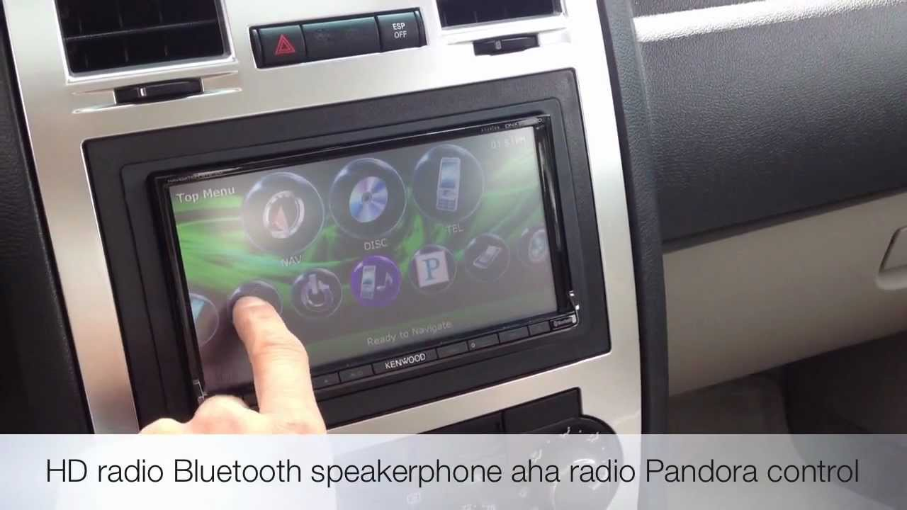 KENWOOD DNX9990HD Navigation Custom Install Chrysler 300c